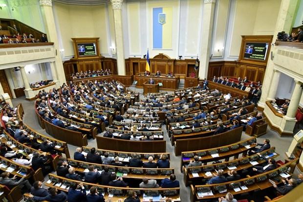 Ukraine: Thong qua du luat cap quy che dac biet cho tieng Ukraine hinh anh 1