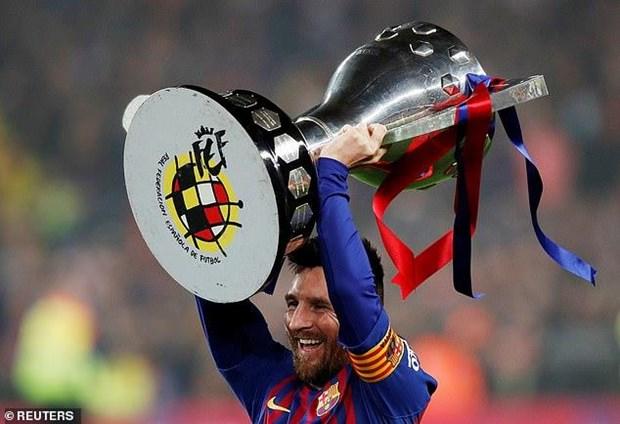 Messi lap cong, Barcelona bao ve thanh cong ngoi vuong La Liga hinh anh 1