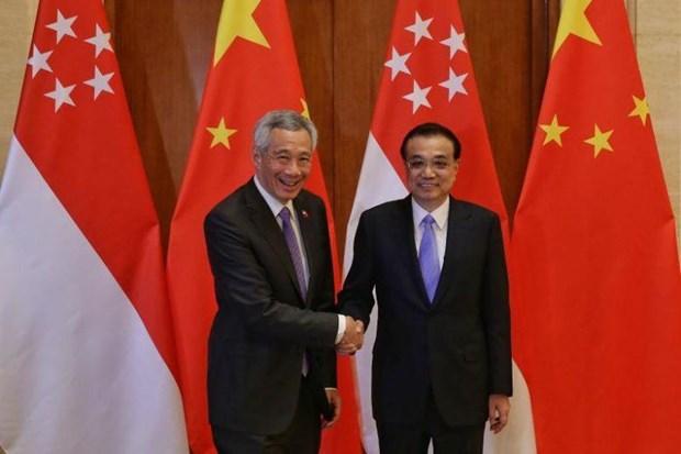 Ong Ly Hien Long: Singapore san sang tham gia Vanh dai va Con duong hinh anh 1