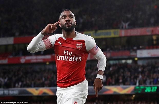 Thang dam Valencia, Arsenal gianh uu the o ban ket Europa League hinh anh 1