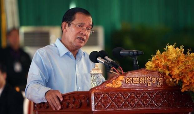 Thu tuong Campuchia Hun Sen keu goi bao chi tham gia chong tin gia hinh anh 1