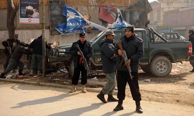 Taliban tan cong tram kiem soat an ninh, 7 canh sat thiet mang hinh anh 1