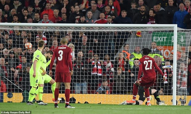 Hủy diệt Barcelona, Liverpool thẳng tiến chung kết Champions League - 2