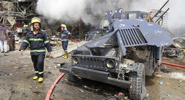 Iraq: Thong tin trai chieu ve vu no lon tai thu do Baghdad hinh anh 1