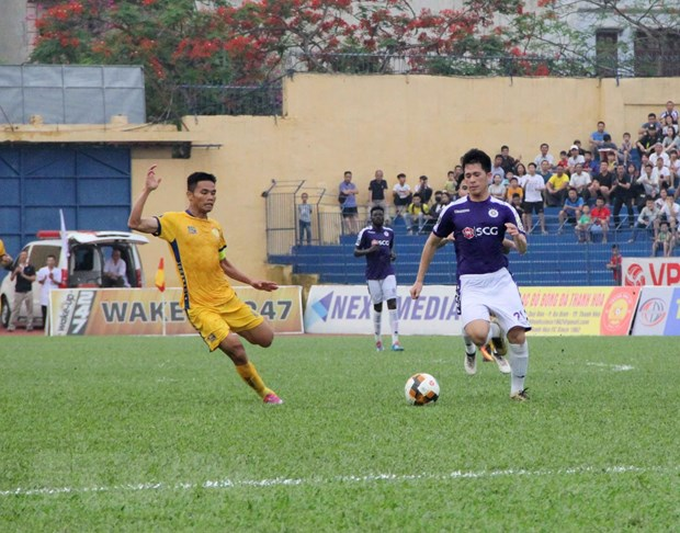 Vong 9 V-League: Thanh Hoa thang dam duong kim vo dich Ha Noi hinh anh 1