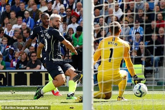 Man City dang quang Premier League sau tran thang huy diet hinh anh 15