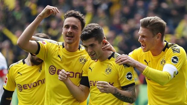 Bayern Munich chia diem, Bundesliga kich tinh den phut cuoi hinh anh 1