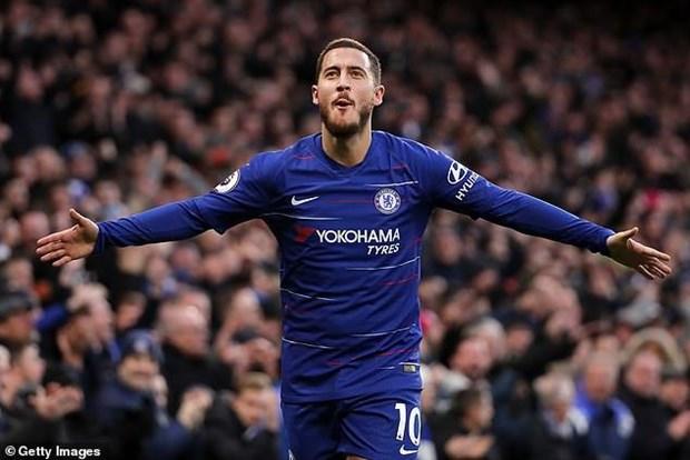 Nhung ban thang dep cua Hazard cho Chelsea o mua giai 2018-19 hinh anh 1