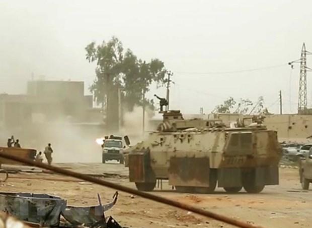 EU hoi thuc cac ben tai Libya noi lai doi thoai chinh tri hinh anh 1
