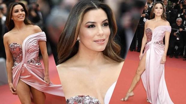 [Video] Cac ngoi sao te tuu tren tham do Lien hoan phim Cannes hinh anh 1