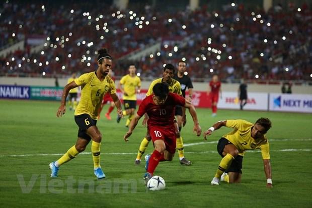 Quang Hai ha guc Malaysia, doi tuyen Viet Nam leo len nhi bang hinh anh 4