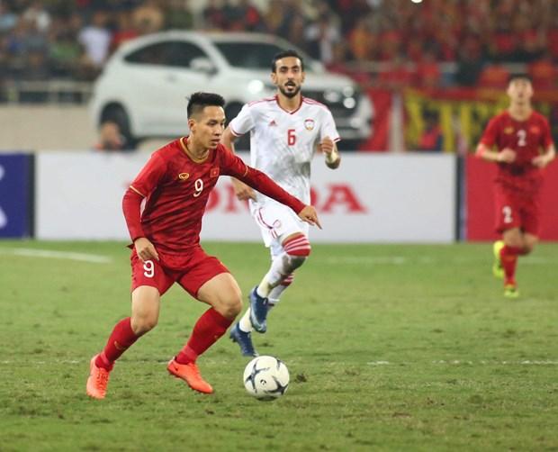 Tien Linh 'ha' UAE, tuyen Viet Nam gianh ngoi dau bang hinh anh 12