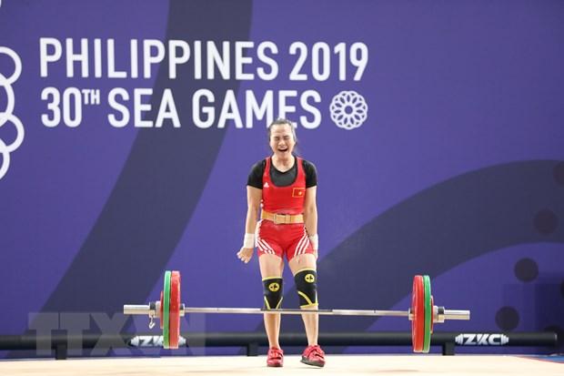 SEA Games 30: Vuong Thi Huyen bat khoc khi gianh HCV mon cu ta hinh anh 1