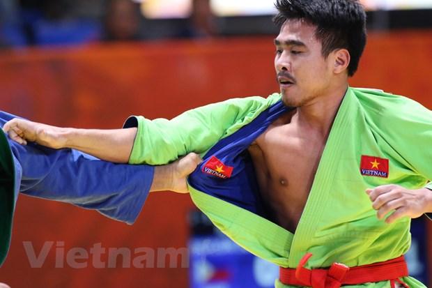 SEA Games 30 ngay 2/12: Kurash Viet Nam ket thuc o vi tri so 1 hinh anh 12