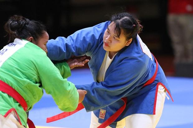 SEA Games 30 ngay 2/12: Kurash Viet Nam ket thuc o vi tri so 1 hinh anh 11