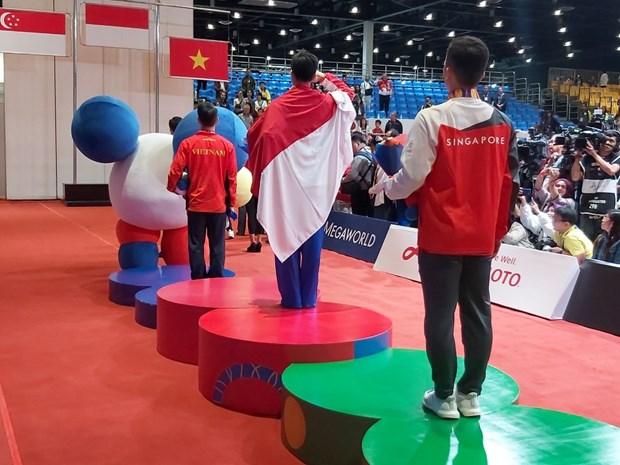 VDV Indonesia chi biet tin cha mat sau khi gianh HCV tai SEA Games 30 hinh anh 2