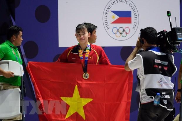 Bang tong sap SEA Games 30: Doan Viet Nam can ke moc 100 huy chuong hinh anh 1