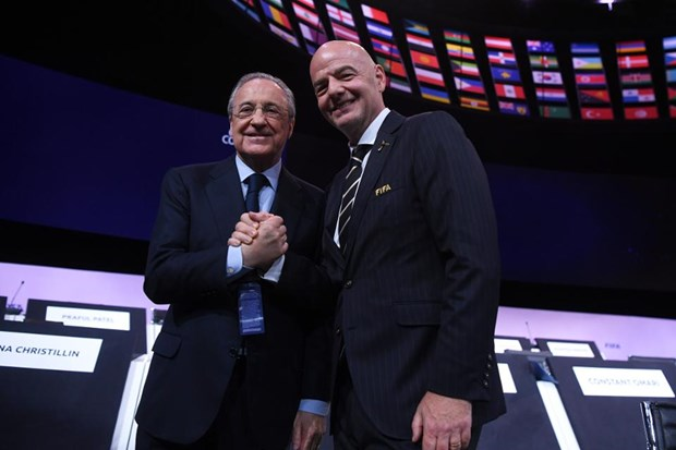 Cuoc chien tien ty giua FIFA va UEFA da chinh thuc bat dau hinh anh 1