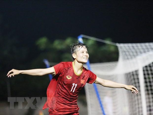 Tuyen nu Viet Nam 'dai chien' Thai Lan o chung ket SEA Games 30 hinh anh 4