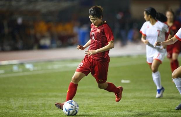 Tuyen nu Viet Nam 'dai chien' Thai Lan o chung ket SEA Games 30 hinh anh 1