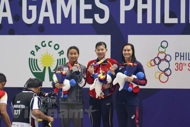 SEA Games 30: Doan The thao Viet Nam da co 38 huy chuong Vang hinh anh 2