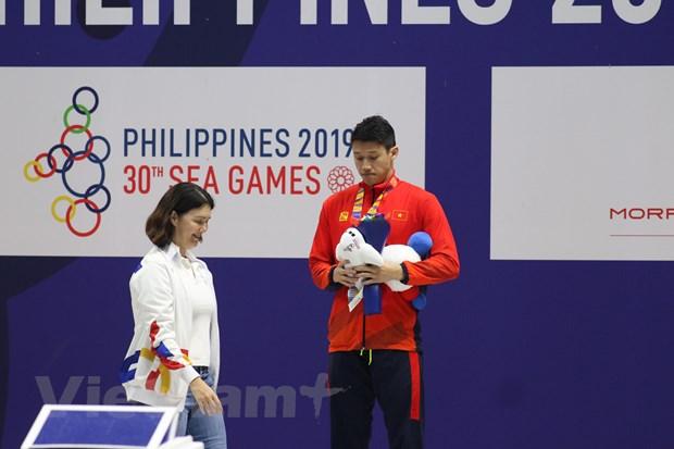 SEA Games 30: Nguyen Thi Anh Vien gianh huy chuong Vang 200m tu do hinh anh 1