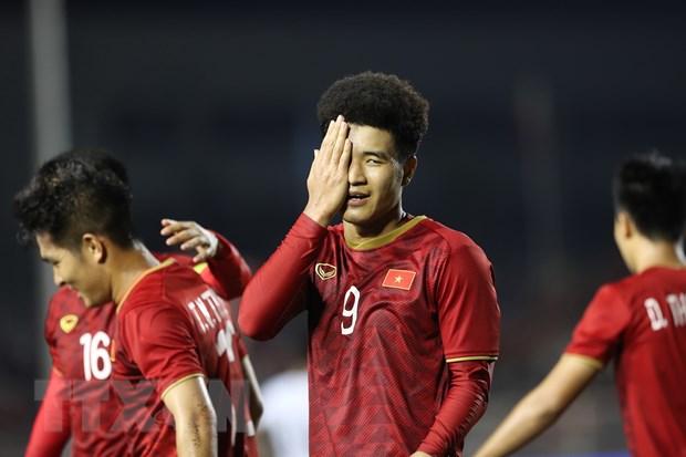 Đức Chinh tỏa sáng đưa U22 Việt Nam vào chung kết SEA Games 30 - 2