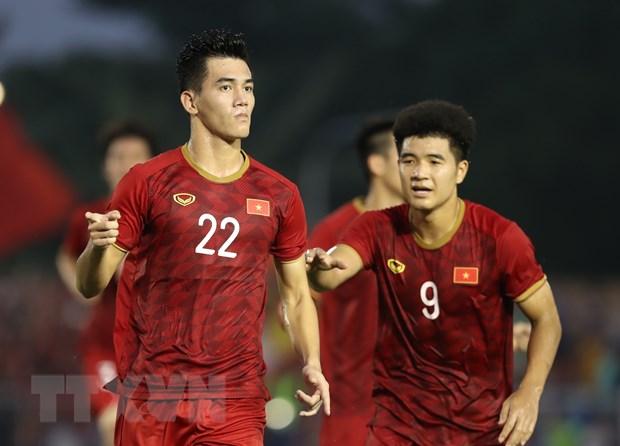 Đức Chinh tỏa sáng đưa U22 Việt Nam vào chung kết SEA Games 30 - 12