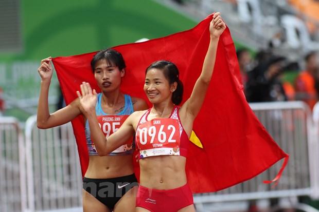 SEA Games 30: Tuyen bong da nu dua doan Viet Nam tro lai top 2 hinh anh 6