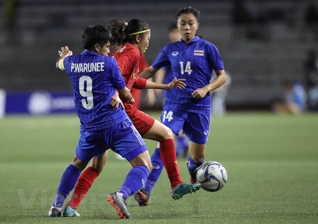 Danh bai Thai Lan, doi tuyen nu Viet Nam gianh HCV SEA Games 30 hinh anh 8
