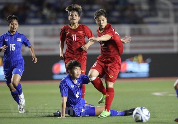 Danh bai Thai Lan, doi tuyen nu Viet Nam gianh HCV SEA Games 30 hinh anh 4