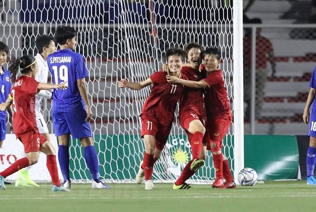 Danh bai Thai Lan, doi tuyen nu Viet Nam gianh HCV SEA Games 30 hinh anh 3