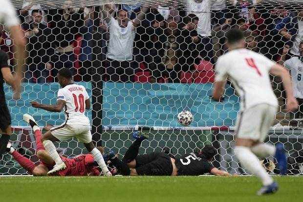 Danh bai Duc, doi tuyen Anh gianh ve vao tu ket EURO 2020 hinh anh 20