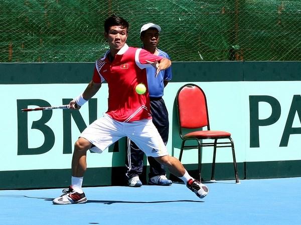 Davis Cup: Hoang Thien gianh tran thang dau cho Viet Nam hinh anh 1
