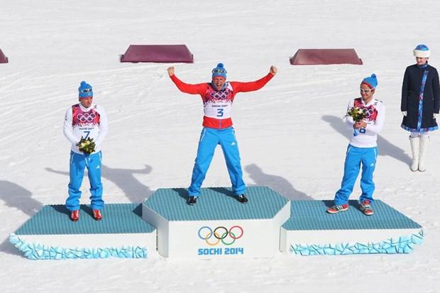 Can moc 12 HCV, Nga lap ky tich o Olympic Sochi 2014 hinh anh 1
