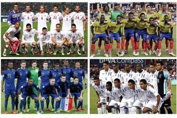 Chot danh sach bang E World Cup 2014: Cho doi dieu bat ngo hinh anh 1
