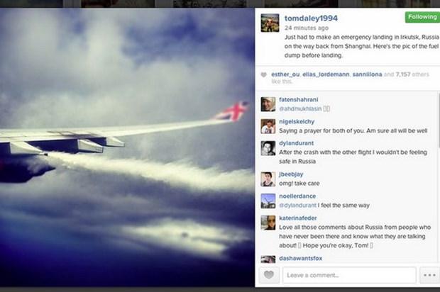 May bay cua hang Virgin Atlantic phai ha canh dot ngot o Nga hinh anh 1