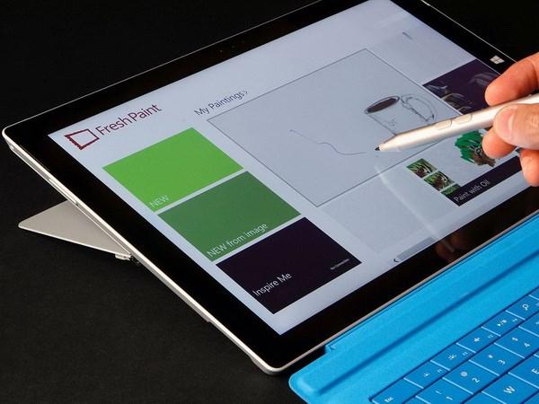 Surface Pro 3 sap co mat tai thi truong chau Au va chau A hinh anh 1