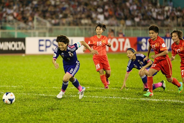 Ban ket Viet Nam - Nhat Ban 0-3: An tuong Dang Thi Kieu Trinh hinh anh 1