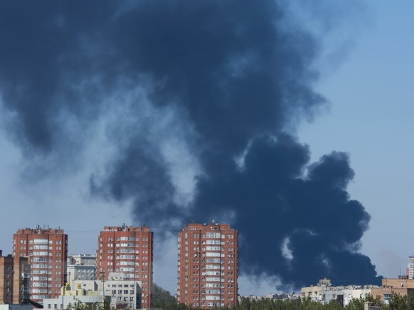 Ukraine: Giao tranh du doi xung quanh khu vuc san bay Donetsk hinh anh 1