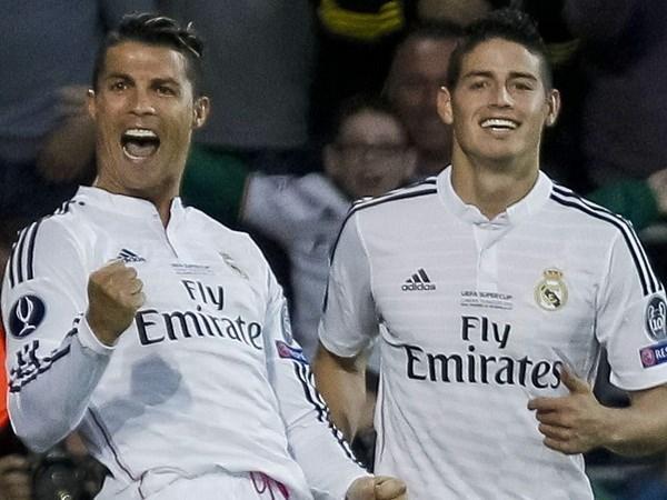 Ronaldo, Rodriguez dap tra