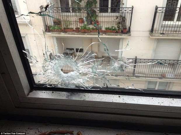 Cong bo hinh anh dau tien ben trong Charlie Hebdo sau vu tham sat hinh anh 7