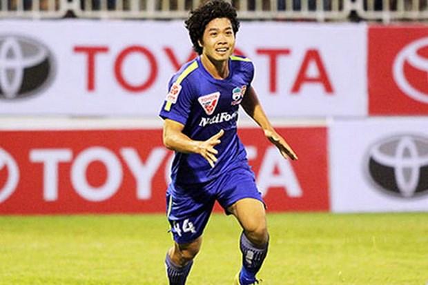 Vong 8 V-League: Thanh Hoa sat ngoi dau, Cong Phuong