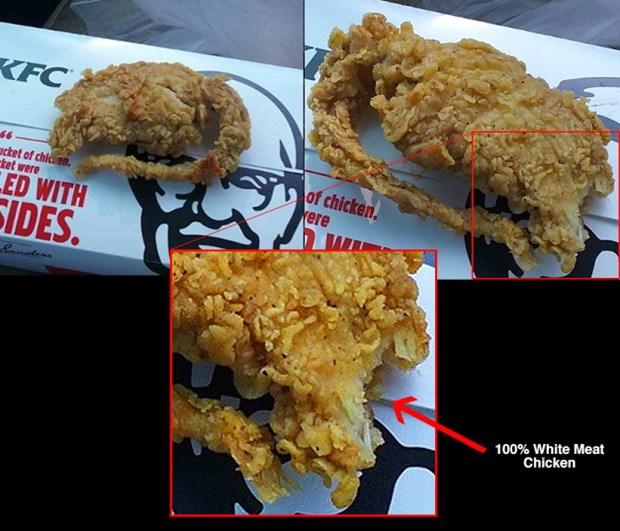 """Thong tin ga ran """"KFC thit chuot"""" gay xon xao cong dong mang hinh anh 2"""