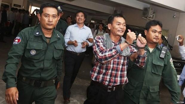 Campuchia ket an tu 11 nhan vat doi lap tham gia hoat dong noi day hinh anh 1