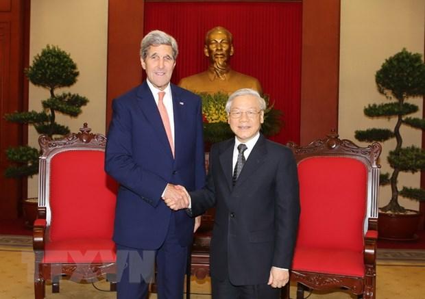 Ngoai truong Kerry: Hoa Ky coi trong tang cuong quan he voi Viet Nam hinh anh 1
