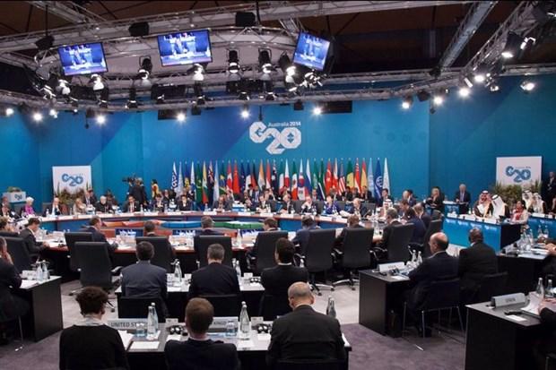 Quan chuc G20 ban ve nhung rui ro suy giam cua kinh te toan cau hinh anh 1