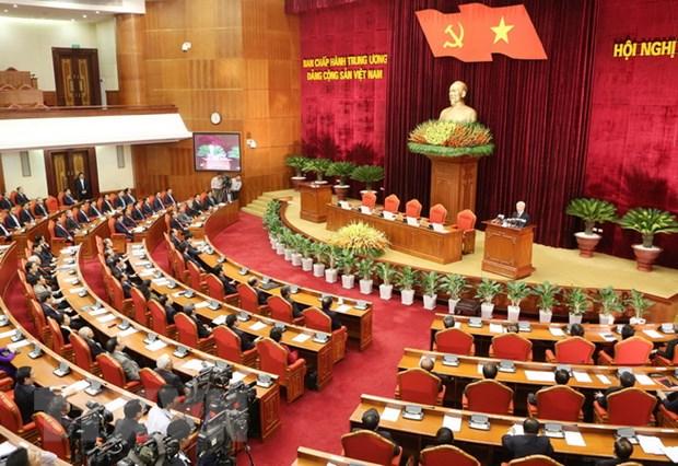 Toan van Thong bao Hoi nghi 12 Ban Chap hanh Trung uong Dang khoa XI hinh anh 1