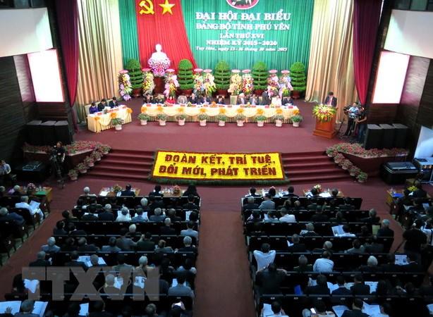 Khai mac Dai hoi dai bieu Dang bo tinh Phu Yen lan thu XVI hinh anh 2