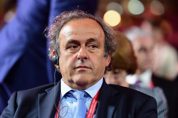 Platini don tin buon tu FA trong cuoc dua chuc chu tich FIFA hinh anh 1